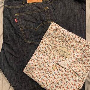 👖Levi's 513 Slim Straight Men's Jeans